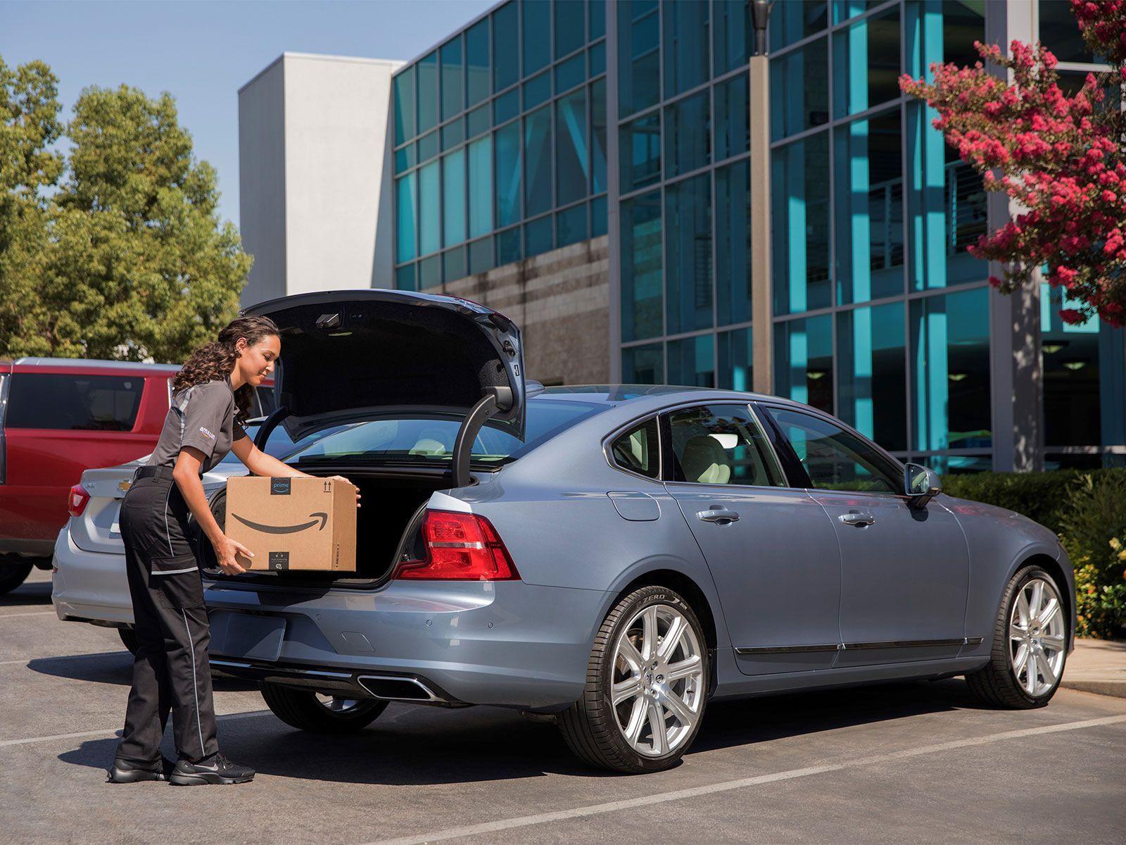 Volvo kooperiert mit Amazon